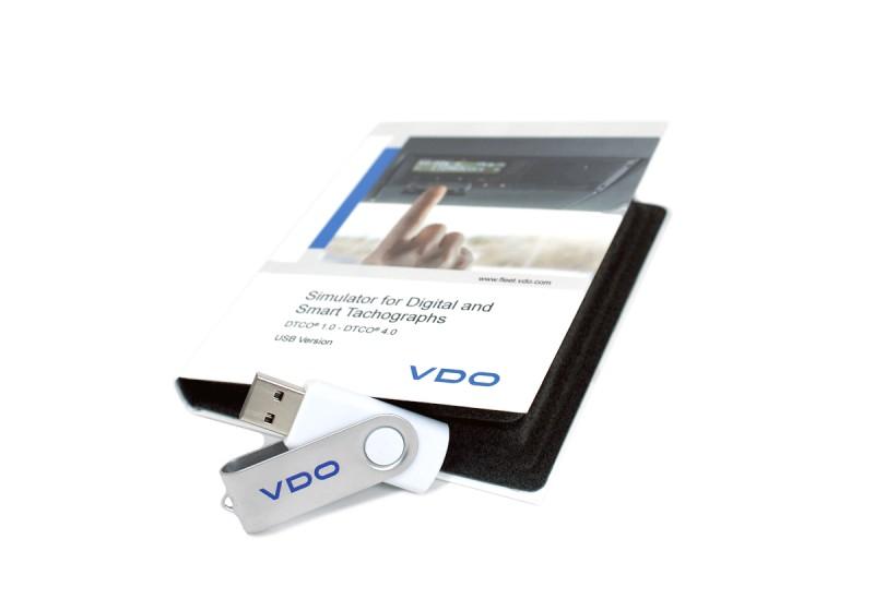 Simulator VDO 1381, Svenska, från v1.4-v4.0 (SMARTA)