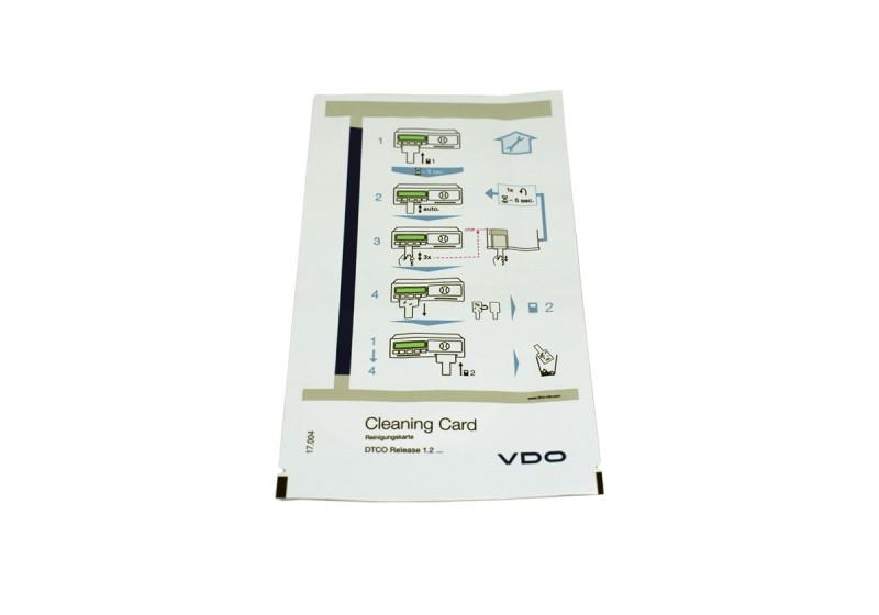 Rengöringskort blöt VDO 1381 digitala färdskrivare