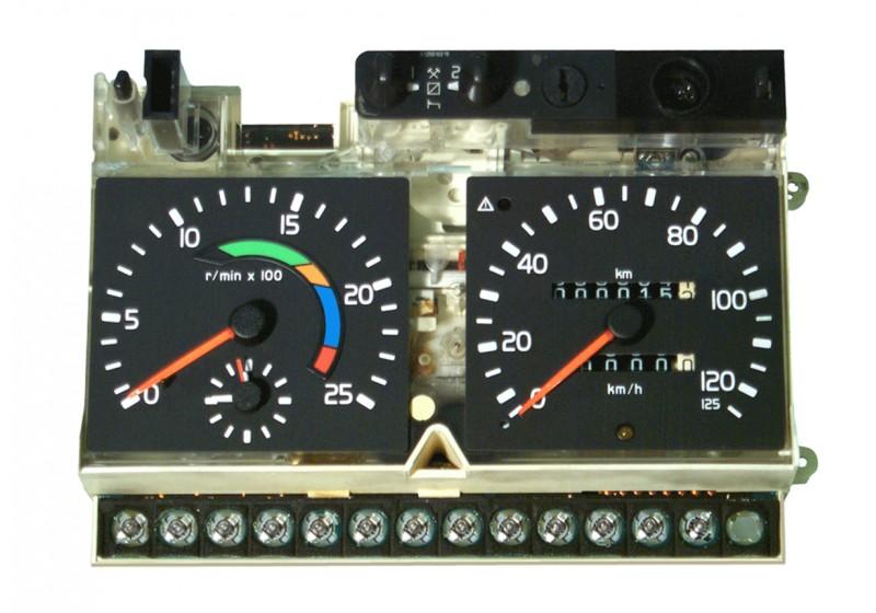 Bytes MotoMeter EGK 100, Vagnselektronik 98