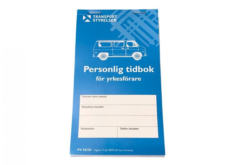 Tidbok för yrkesförare