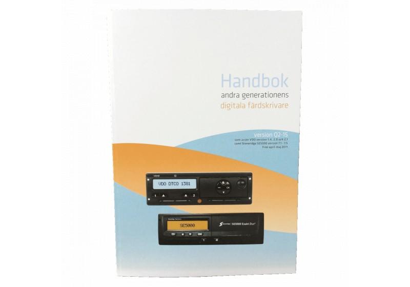 Handbok 2015 digitala färdskrivare