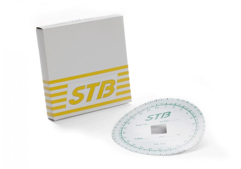 Diagramblad skakur STB, 1 dag, 80blad/ask, fyrkantig ansl.